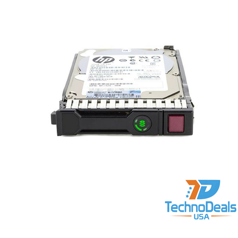 "0-Hours  HP 1TB SATA 7.2K 3.5/"" W// Smart Carrier HDD 657750-B21 Sealed in bag"