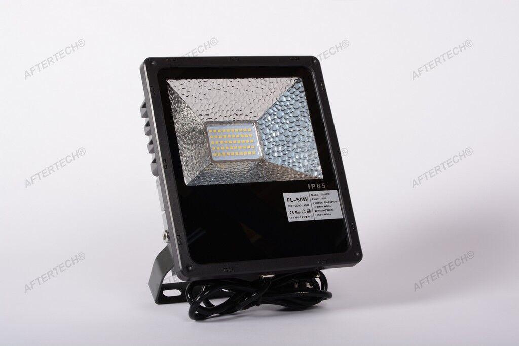 2835 50w BIANCO FrotDO FARO LED DA ESTERNI FLOOD LIGHT LUCE IMPERMEABILE IP65