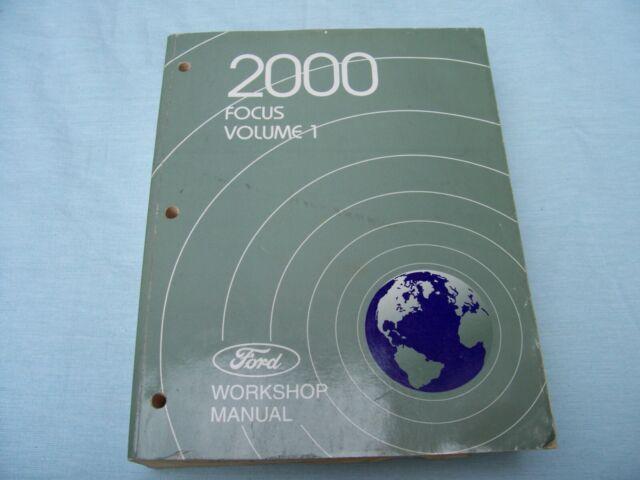 2000 Ford Focus Volume 1  U0026 2 Workshop Service Manuals
