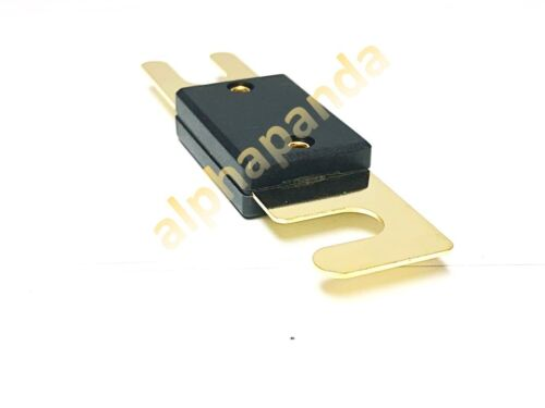 5-Pack Gold Plated 60 Amp 60A Car Stereo Audio ANL Blade Fuse Power Wire NEW