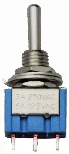 Kippschalter Miniatur Subminiatur 2-3 Pins Toggle Switch Kipp Schalter