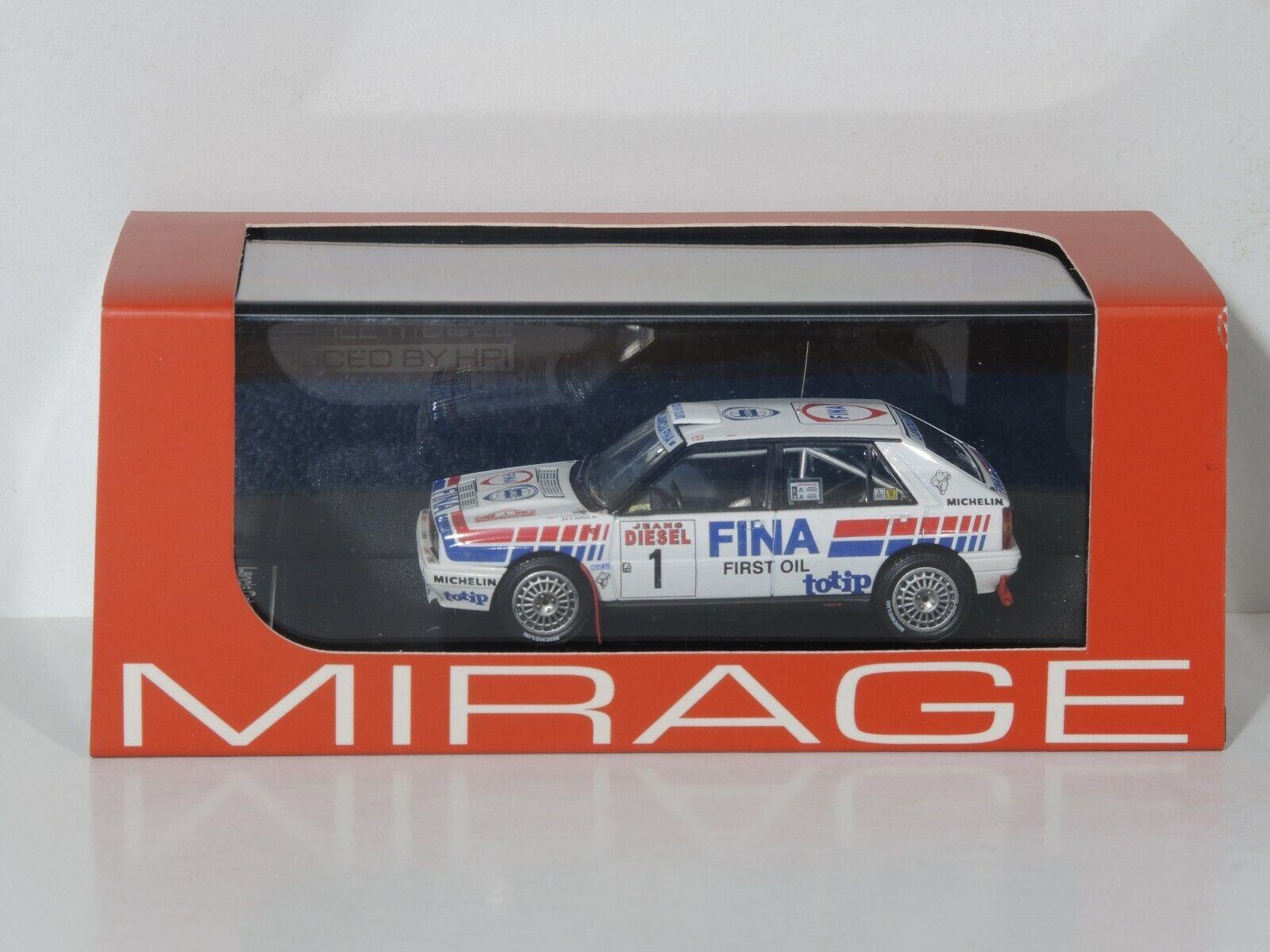 HPI 8229 MIRAGE 1 43 - Lancia Delta 16V - Rally Sanremo 1991  1 -Auriol Occelli