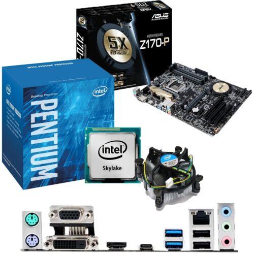 Motherboard /& CPU Bundle INTEL Pentium G4400 3.3Ghz /& ASUS Z170-P
