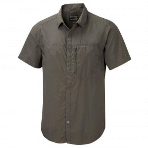 CRAGHOPPERS Mens Kiwi Pro Lite Short Short Short Sleeved Shirt - Olive Drab | Qualitätskönigin  | Sofortige Lieferung  4e6735