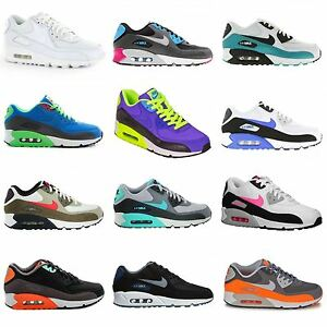 finest selection 881bd 60bd0 Nike-Air-Max-90-Essential-Leather-Mens-Trainers