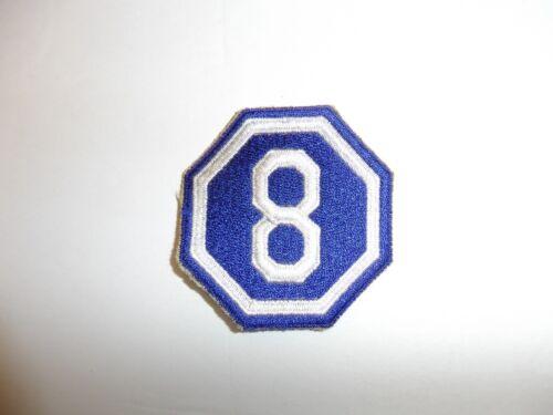 b0211 WW 2 US Army VIII Corps Eighth 8th PA12