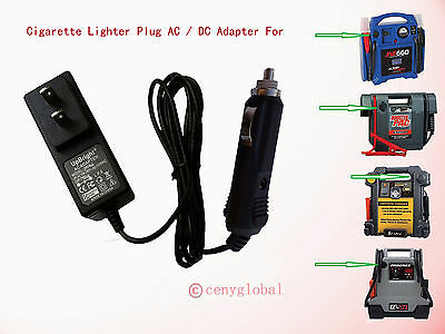 FAST 12V DC Charger AC adapter for Duralast BP-DL750 JUMP START 750 AMP