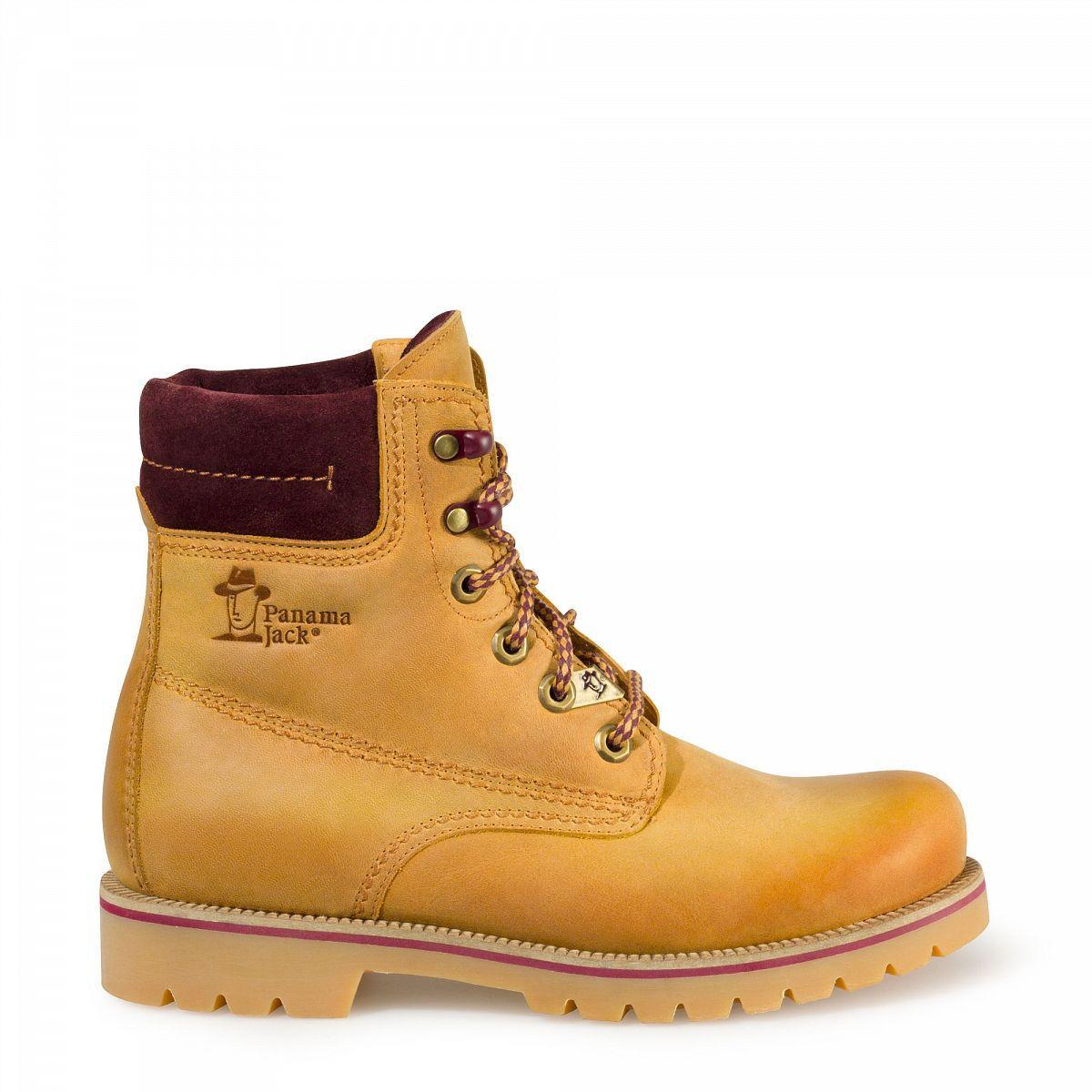Panama Jack Damenschuhe Schuhe Stiefelette Boots Vintage Napa Bordeaux Limitiert