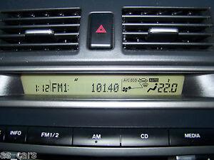 Image Is Loading Radio Display Mazda 3 Bk Pre Facelift 2004