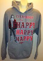 Men's Duck Dynasty Happy Happy Happy Phil Robertson Fleece Hoodie