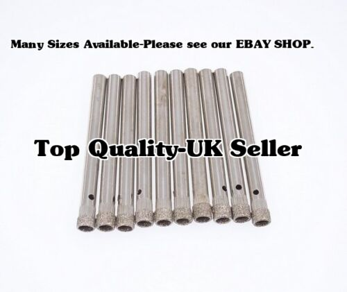 3 X 7mm Diamond Core Drill Bit For Cake Stand Fitting,Porcelain,Tiles e.c.t .
