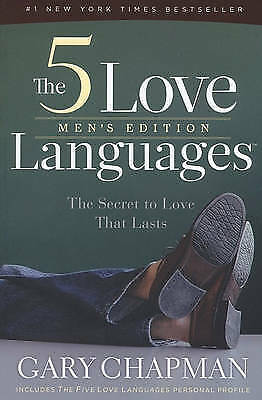 1 of 1 - Five Love Languages Mens Edition The PB, Very Good Condition Book, Chapman Gary,