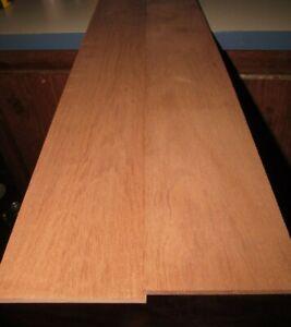 "Ribbon Mahogany Sapele Lumber  ~  2 /& 3//8/"" X 36/"" X 1//4/""  ~  Planed 4 sides"
