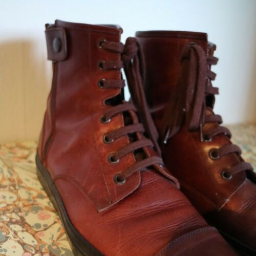 Trainers Common Projects Burgundy Aged Calfskin TJclFK1