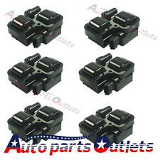 Set Of 6 Ignition Spark Coil Coils For Mercedes-Benz C CL CLK ML Class UF-359