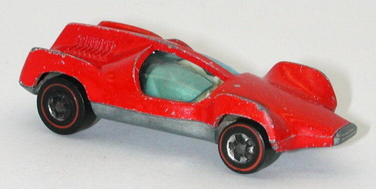 Redline Redline Redline Hotwheels Red Enamel 1973 Double Vision oc11886 b40280