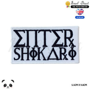 Enter-Shikari-Music-Band-Embroidered-Iron-On-Sew-On-Patch-Badge-For-Clothes-etc