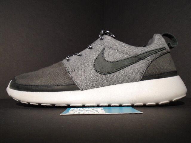 2018 Nike ROSHE courir Gris ROSHEcourir PREMIUM NRG ANTHRACITE Gris courir PLATINUM noir 10.5 f8c6d9