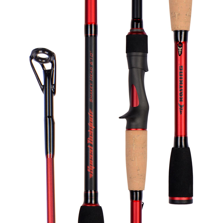 KastKing Speed Demon Bass Series Fishing Rods, 1 Pcs Casting Rod - 7' - M