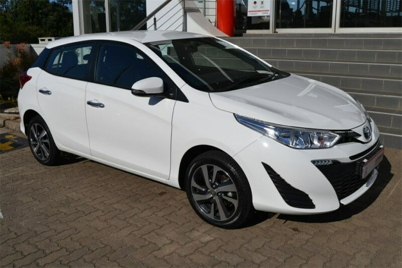 2020 Toyota Yaris 1.5 XS CVT, White with 19300km available now!