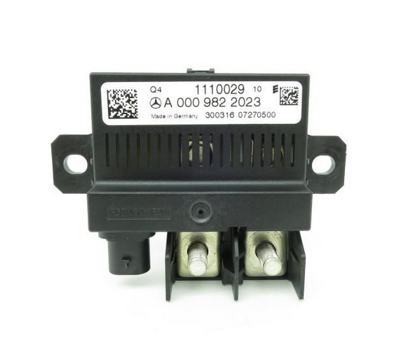 MERCEDES-BENZ CLA C117 Backup Battery Relay A0009822023 NEW GENUINE
