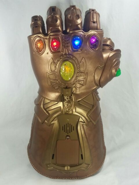 Marvel Legends Thanos INFINITY GAUNTLET Articulated Electronic Fist Hasbro 2017