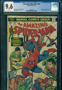 AMAZING-SPIDER-MAN-140-CGC-9-6-NM-NEAR-MINT-WP-1st-GLORIA-GRANT-Marvel-Comics