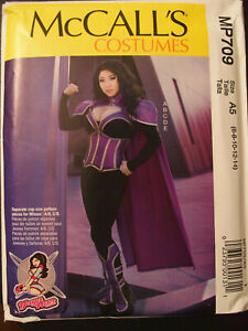 McCalls 7793 Misses Comicon Cosplay YaYa Han Costume Sewing Pattern Sz 14-22