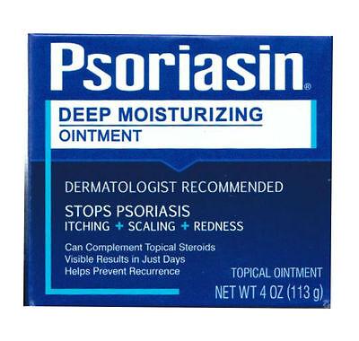 Psoriasin Multi-Symptom Psoriasis Relief Ointment 4oz 072959780043CT