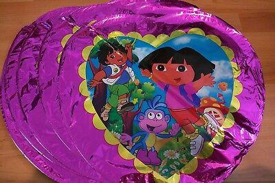 "10 pcs 18/"" Dora The Explorer Foil Balloon Kids toys Birthday Party Decoration"