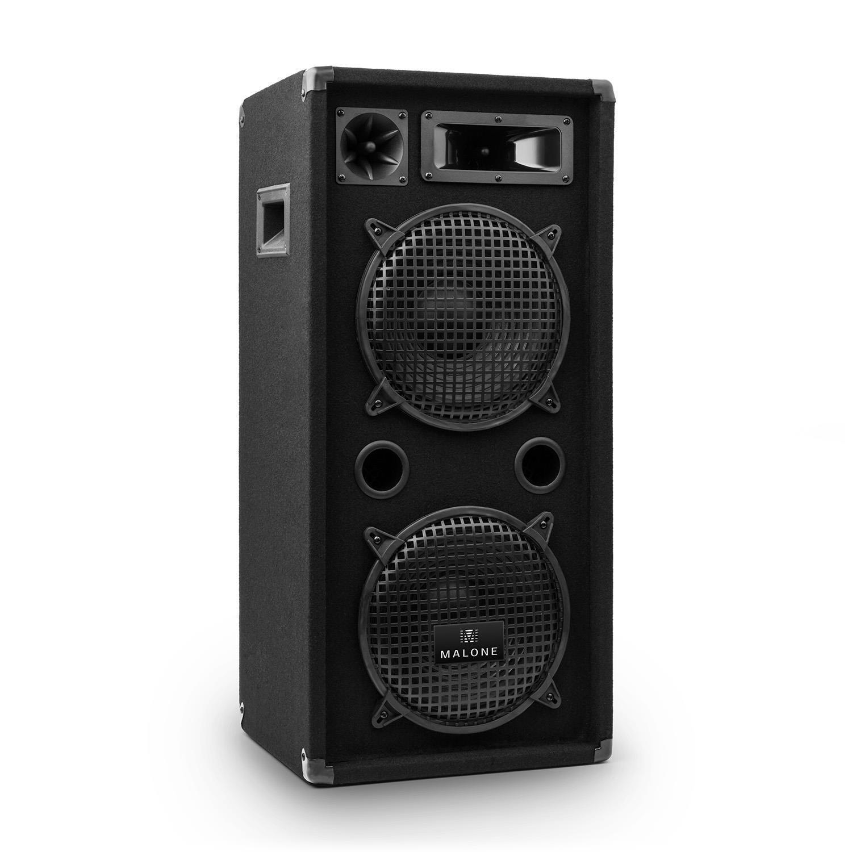 [OCCASION] [OCCASION] [OCCASION] Malone Enceinte Passive DJ PA Sono 3 Voies 2x 25cm (10 ) 900W  compras en linea