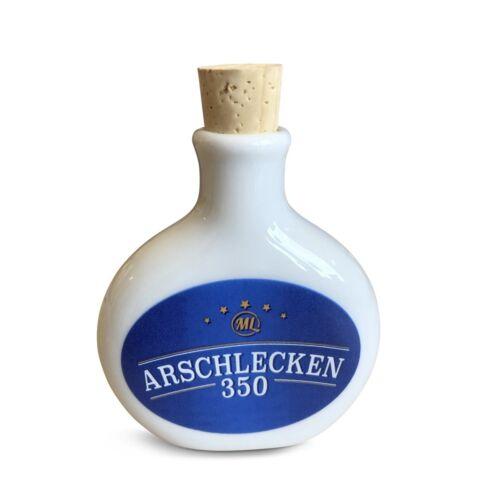 Keramik Korkverschluss Kleine Schnupftabakflasche Arschlecken 350