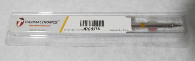 GENUINE THERMALTRONICS M7CH175 SOLDERING TIP CHISEL 30° 2.5mm 10MM-TIP STTC-136