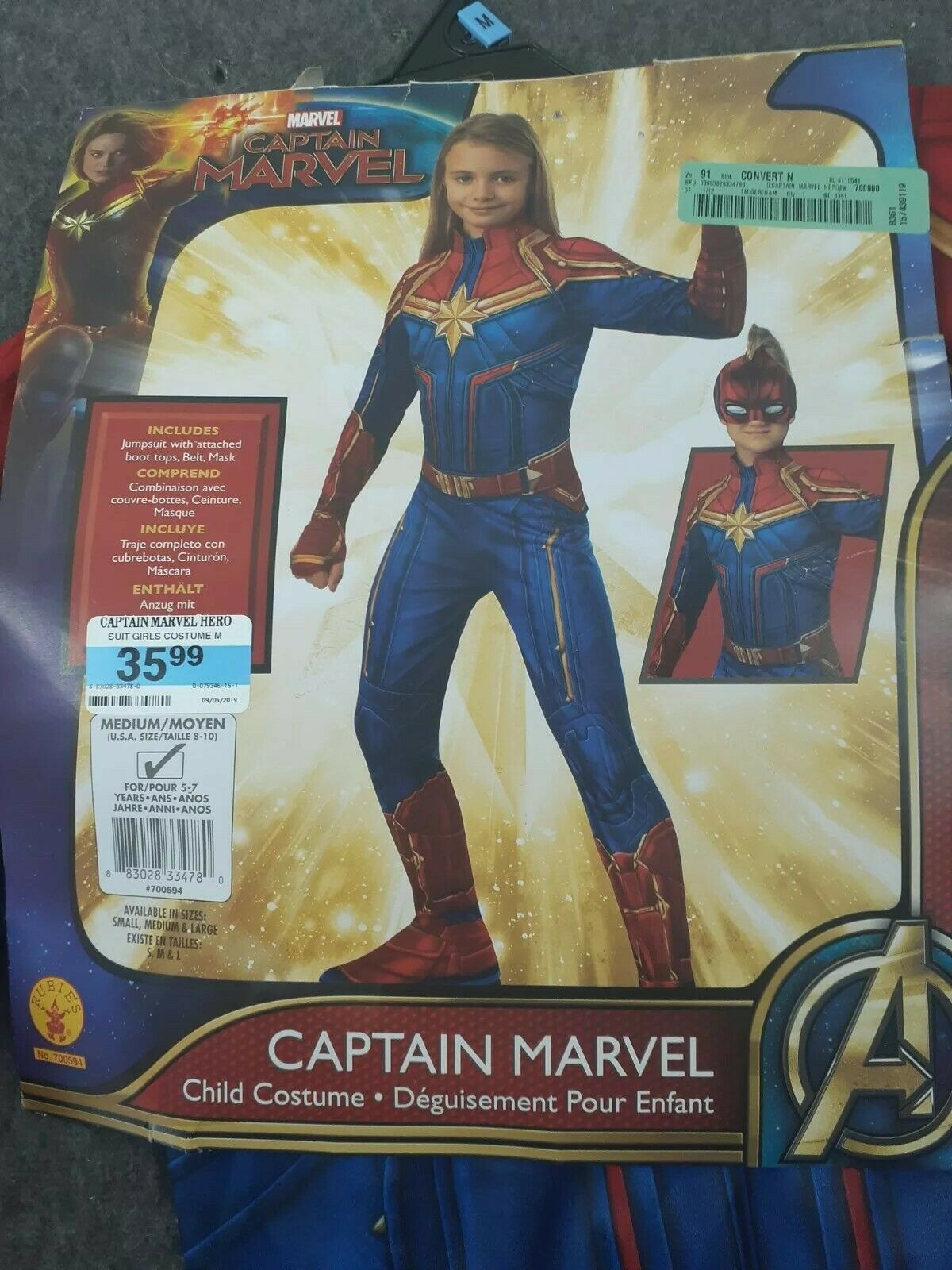 Halloween Avengers Captain Marvel Hero Suit Child Costume For Sale Online Ebay Melde dich hier an, oder erstelle ein neues konto, damit du: halloween avengers captain marvel hero suit child costume