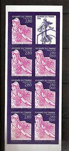 SUPERBE-BANDE-NON-DENTELEE-MAURY-N-2985Ba-034-Journee-timbre-1996-034-cote-350