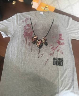 Official The Walking Dead Lucille is Thirsty Unisex Tshirt Horror FOX Zombies
