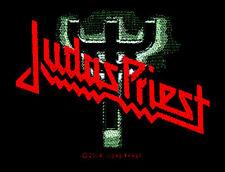 Judas Priest - Logo Fork Aufnäher Patch NWoBHM Heavy Metal Kutte Wacken NEU