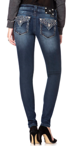 28 Jeans Jp7077s Tags Flap Sz Mesmerized Totally Skinny Miss Med Me Ny tR7qwxtf