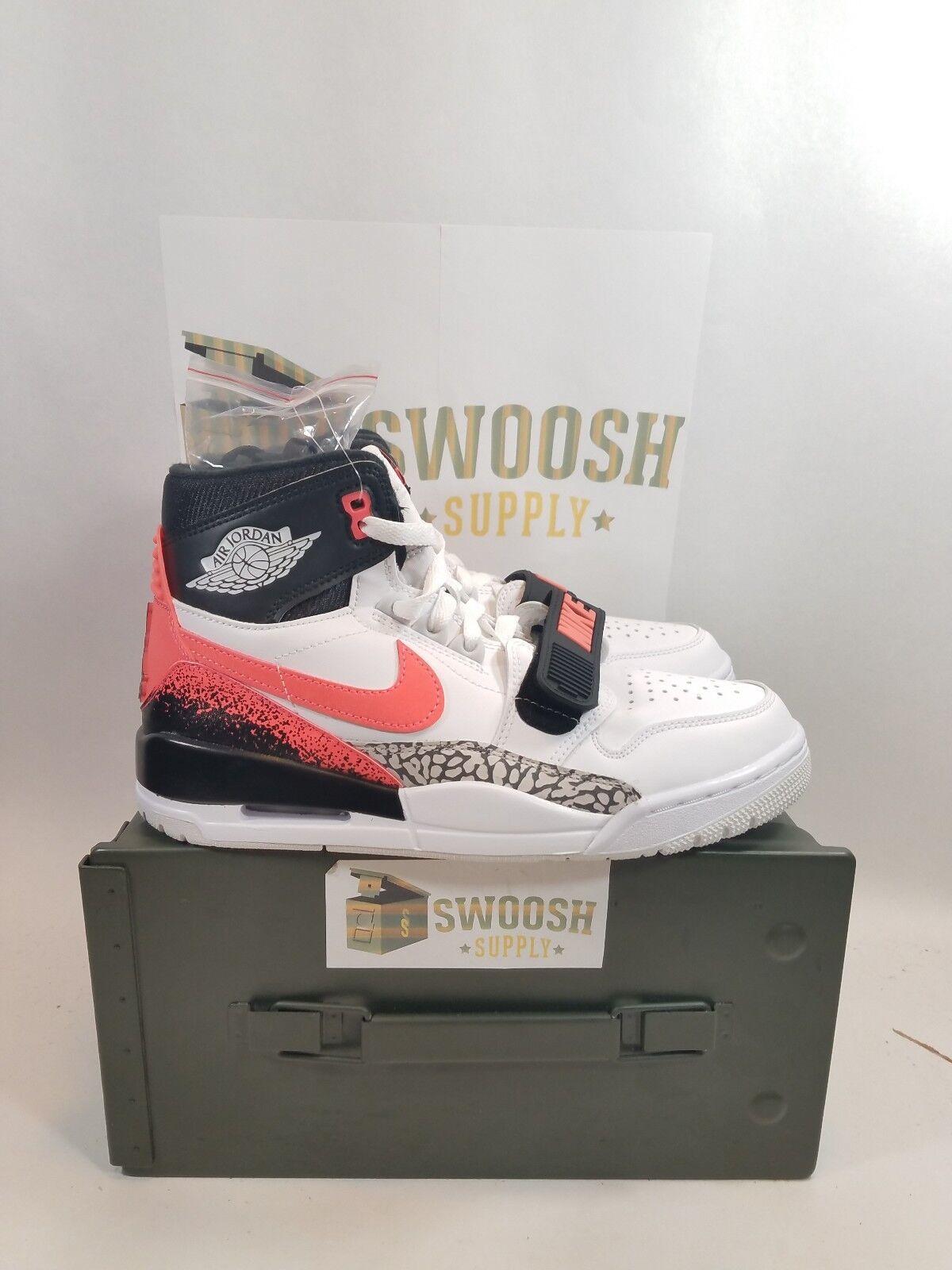 71bdd7ca4e Nike Just Don x Air Jordan Legacy 312 Hot Lava Agassi AQ4160-108 12.5 NEW  Size noqrib3053-Athletic Shoes
