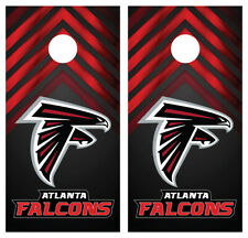 Atlanta Falcons 0239 custom cornhole board vinyl wraps stickers posters decals