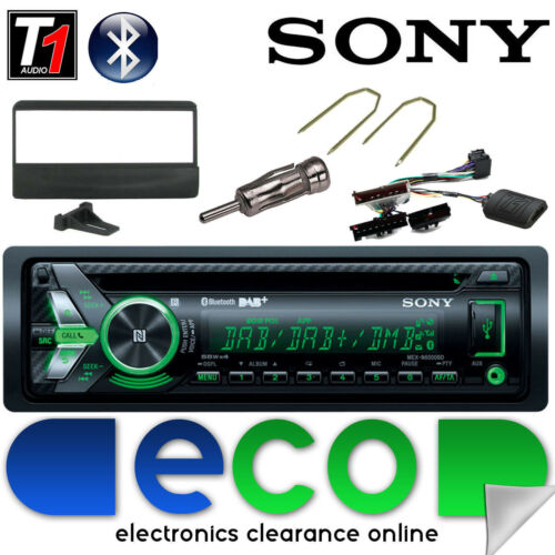 Ford Fiesta Sony DAB CD MP3 USB Bluetooth Car Stereo Radio & Steering Wheel Kit