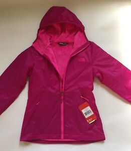 e977d8947 Details about Brand New The North Face Women's Pitaya 2 Hoodie Jacket, Size  XS Fuschia Pink