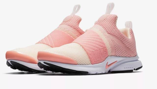 on sale 93302 a75b0 Nike Presto Extreme (gs) Bleached Coral Big Kids Running Shoes 870022-602  Size 5