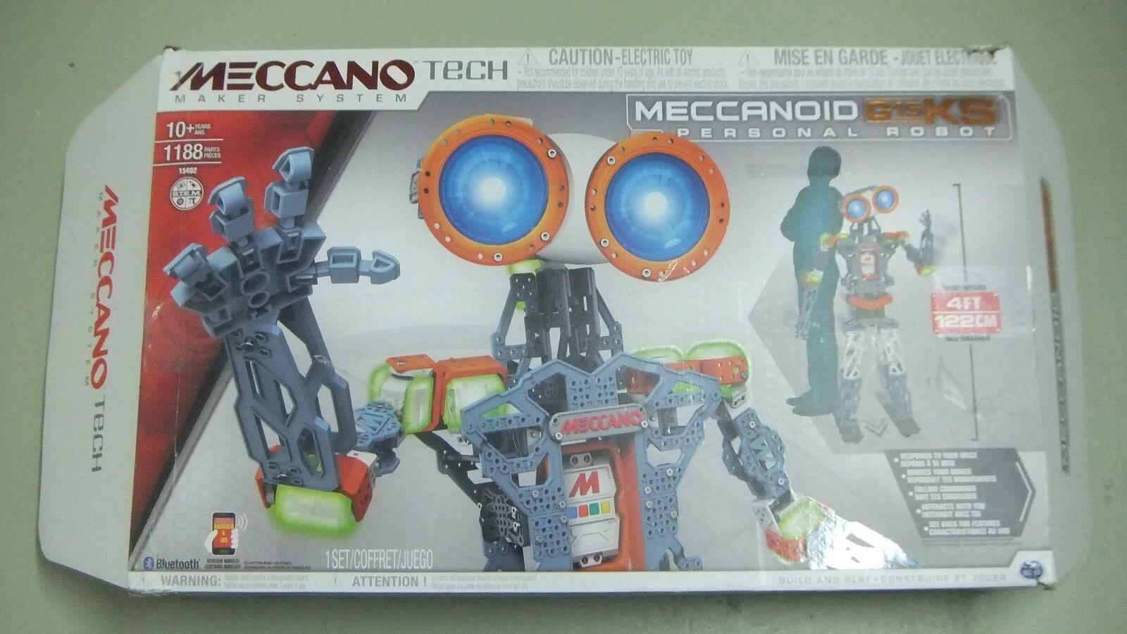 Spin Master Meccano Meccanoid G15 KS Persönlicher Roboter 122cm NEU
