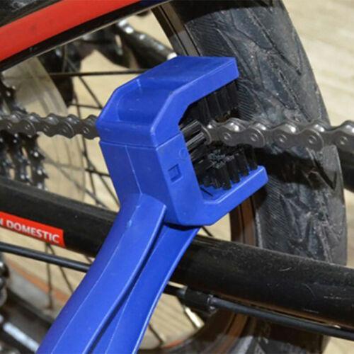 Motorcycle Bike Bicycle Chain Wheel Cleaning Brush Motorbike Cleaner Tools CB