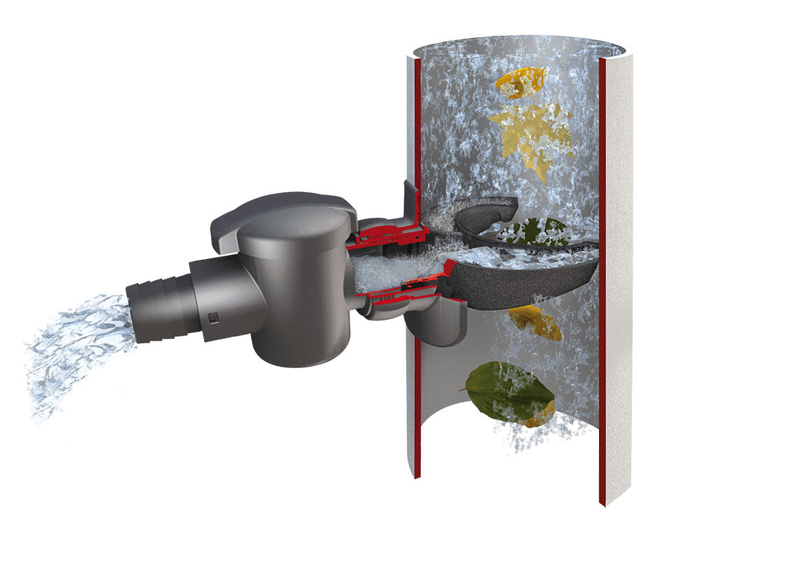 Graf Speedy Rain Water Diverter Collector with Filter