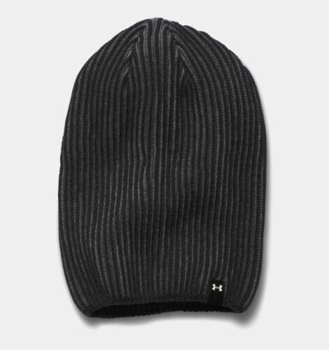 UNDER ARMOUR Women/'s On Off Beanie Knit Gray Reflective Slouchy O//S  $44.99NWT