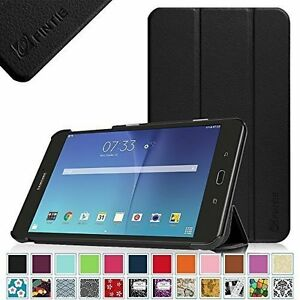 newest 9e092 101a2 Details about Leather Case Cover For Samsung Galaxy Tab E 8.0