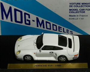 1-43-PORSCHE-959-1986-MOG-MODELES-FACTORY-BUILT-brianza-bbr-amr-minichamps