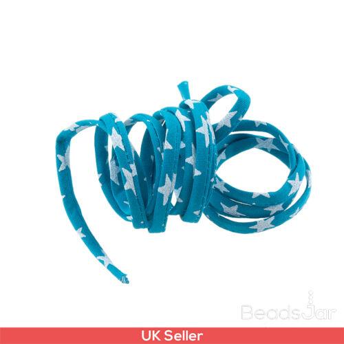 Liberty of London Turquesa Print 4mm Cable de cinta Etoiles 1 metros H57//6